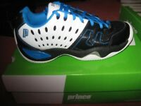 Brand new Prince T22 Clay Court Tennis Shoes - Size 7