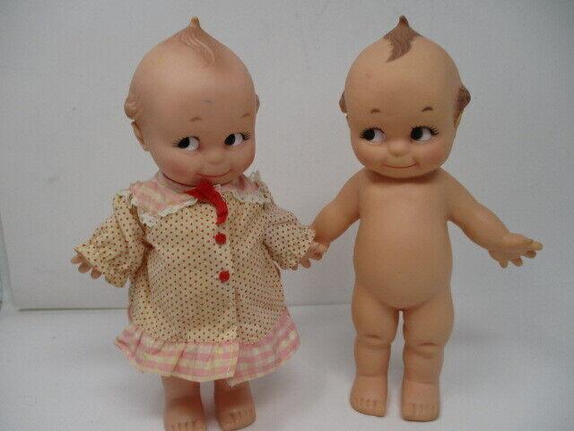 """Vintage Kewpie Cameo Dolls, 10"""" Initialed & Numbered"""