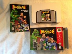 Rampage: World Tour, for N64/Nintendo 64