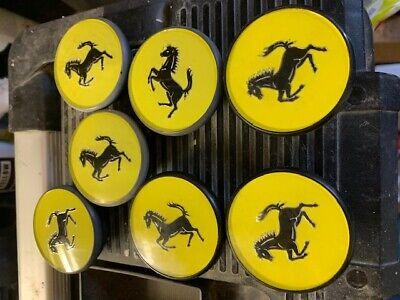 Ferrari wheel badges