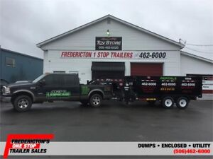 Fredericton One Stop Trailers Now Rents Roll of Dump Trailers