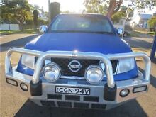2011 Nissan Navara D40 MY10 ST-X Altitude Blue 5 Speed Automatic Utility Cardiff Lake Macquarie Area Preview