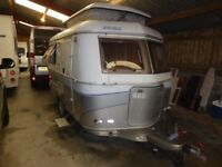 Hymer Eriba 320 GT Touring 2 berth, excellent dry van with Awnings.