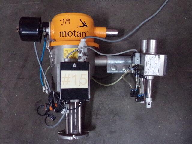 Motan Single Shot Vacuum Hopper Loader w Filter MM-38-0-S