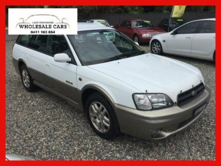 1999 Subaru Outback MY99 White 4 Speed Automatic Wagon Jewells Lake Macquarie Area Preview