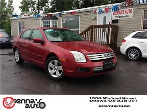 2007 Ford Fusion SE 4dr Front-wheel Drive Sedan