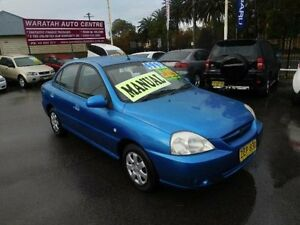 2004 Kia Rio BC Blue 4 Speed Automatic Sedan Waratah Newcastle Area Preview