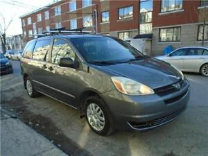 2005 TOYOTA SIENNA CE/ FINANCEMENT MAISON $50 SEMAINE CARSRTOYS