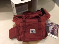 Ergo baby carrier (boxed with original booklet/instructions)