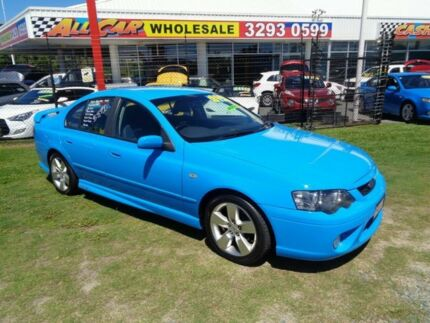 2006 Ford Falcon BF Mk II XR6 Blue 6 Speed Sports Automatic Sedan Clontarf Redcliffe Area Preview
