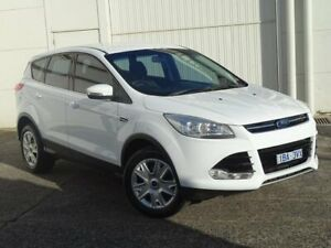 2013 Ford Kuga TF Ambiente AWD White 6 Speed Sports Automatic Wagon Bundoora Banyule Area Preview
