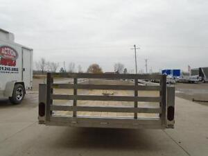 14' ALUMINUM UTILITY TRAILER -LIGHT WEIGHT AND BUILT TO LAST!! London Ontario image 3