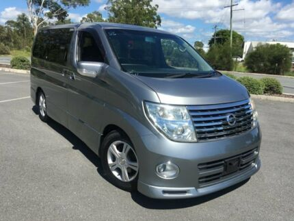 2005 Nissan Elgrand E51 Series 2 Highway Star Grey 5 Speed Automatic Wagon