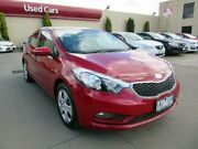 2013 Kia Cerato YD MY14 S Red 6 Speed Automatic Sedan Hoppers Crossing Wyndham Area Preview