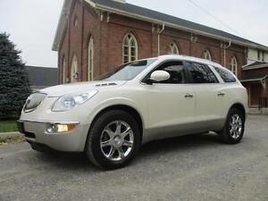 2008 Buick Enclave CXL - DVD+LEATHER+CERTIFIED $10,925