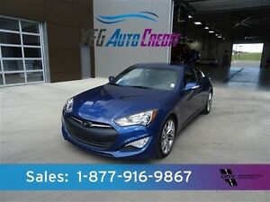 2015 Hyundai Genesis Coupe GT 3.8L LEATHER NAV $195b/w