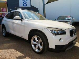 2013 BMW X1 E84 LCI MY0713 xDrive20d Steptronic AWD White 8 Speed Sports Automatic Wagon