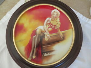Marilyn Monroe River Of No Return Collector Plate
