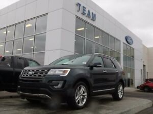 2017 Ford Explorer 301A,LIMITED, LTHR, MOONROOF, SYNC3, NAV, 4WD