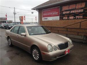 2001 Mercedes-Benz E-Class E320**LEATHER****SUNROOF***ONLY 154KM London Ontario image 1