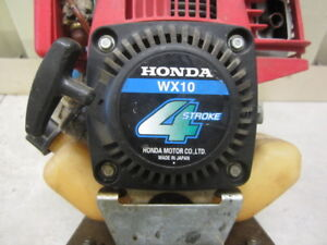 Honda wx 10 water pump