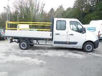 2012 Vauxhall Movano/Renault Master double cab dropside