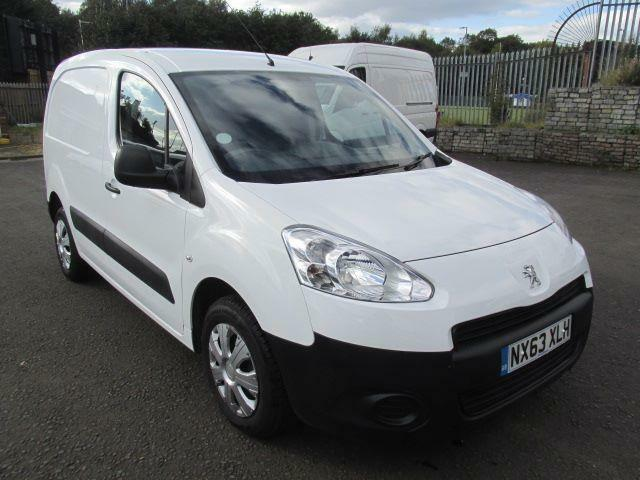 Peugeot Partner L1 850 S 1.6 Hdi 92PS Van DIESEL MANUAL WHITE (2013)