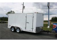 2015 Haulmark 7x14 Enclosed Trailer