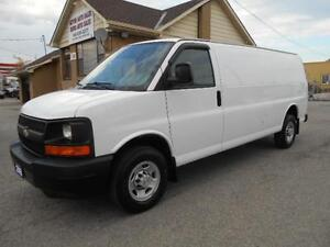 2008 CHEVROLET Express 2500HD Extended Cargo 4.8L ONLY 93,000Km