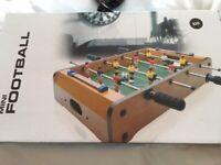 TABLE TOP MINI FOOTBAL FROM DEBENHAMS - NEVER OPENED - £13
