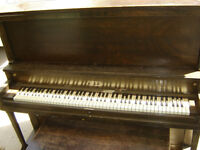 Used Piano and Bench $100.00
