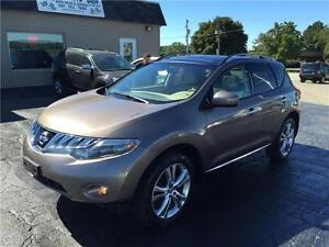 2010 Nissan Murano LE LEATHER SUNROOF BACK UP CAM ONLY 95KM