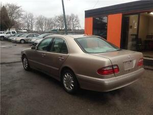 2001 Mercedes-Benz E-Class E320**LEATHER****SUNROOF***ONLY 154KM London Ontario image 3