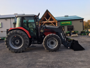 2008 MASSEY FERGUSON 5460 - CAB, LOADER - 115HP - MINT