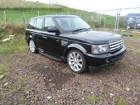 RANGE ROVER SPORT 4.2SC 2005-2010 72k MILES BREAKING FOR PARTS SPARES OR REPAIR NON RUNNER