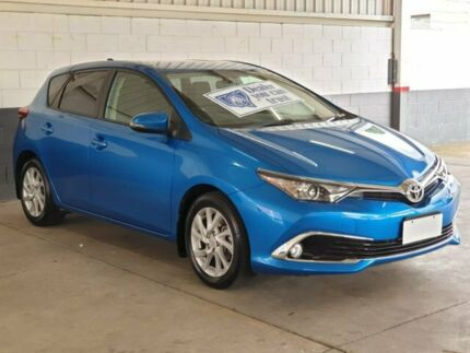 2017 Toyota Corolla ZRE182R Ascent Sport S-CVT Blue 7 Speed Constant Variable Hatchback Homebush Strathfield Area Preview