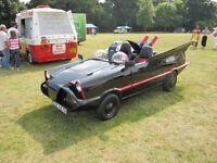 Batmobile: one-off, custom-built show car!