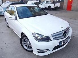 Mercedes-Benz C220 2.1 CDI AMG SPORT Blue F 7G-Tronic Plus 2013MY