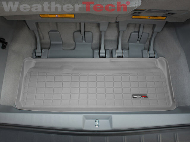 weathertech cargo liner trunk mat for toyota sienna