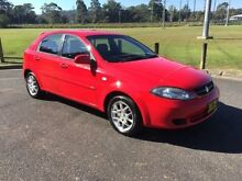 2008 Holden Viva JF MY08 Upgrade Red 5 Speed Manual Hatchback West Gosford Gosford Area Preview