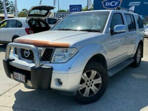 2005 Nissan Pathfinder R51 ST-L Silver 6 Speed Manual Wagon Greenslopes Brisbane South West Preview