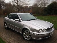 2005 Jaguar X-Type 2.0 Diesel 4dr Long Mot Cheap insurance model 50+ mpg Heated leather seats