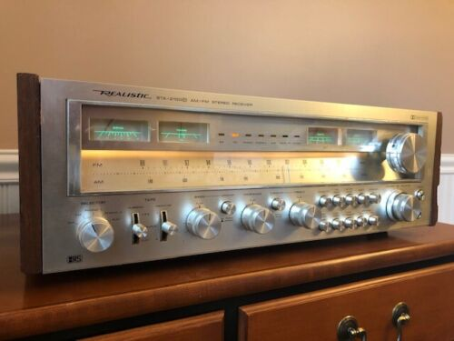 Monster Realistic STA-2100D AM/FM Stereo Receiver 120 WPC ~ Pro Bench Tested