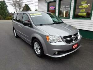 2014 Dodge Grand Caravan SXT w/ DVD for only $185 bi-weekly!