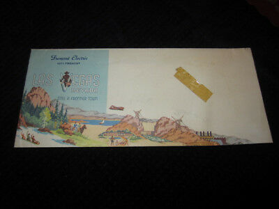 1950S FREMONT ELECTRIC LAS VEGAS NEVADA PICTURE ENVELOPE