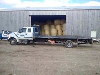 2001 Ford F650 tilt and load tow truck