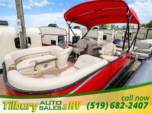 2017 AVALON PONTOON LSZ QUAD LOUNGER 2485 YAMAHA F150 HP