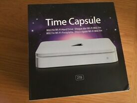 APPLE Time Capsule (4th Gen A1409) Dual Band 2TB NAS WiFi External Storage hard drive