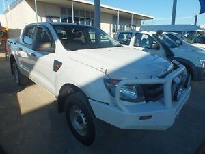 2012 Ford Ranger PX XL 2.2 HI-Rider (4x2) White 6 Speed Automatic Crew Cab P/Up Bohle Townsville City Preview