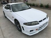 1995 Nissan Skyline ECR33 GTS-T White 5 Speed Manual Coupe Greenacre Bankstown Area Preview